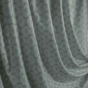 Портьерная ткань бархат серый
