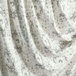 Портьерная ткань бархат светлый с узором